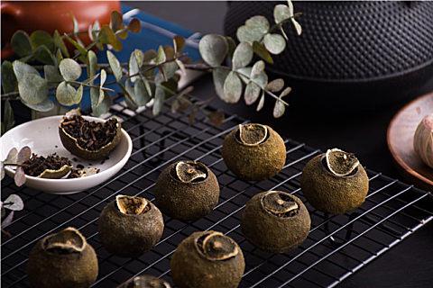 小青柑生晒和烘焙的区别