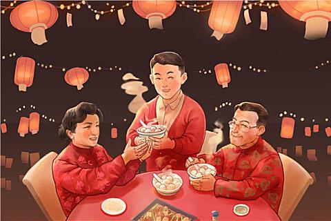 春节吃汤圆的传说故事