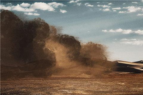 沙尘天气的形成条件及防御措施