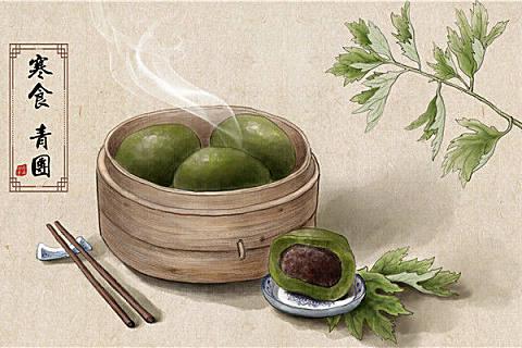 清明节吃什么?清明节传统习俗风俗