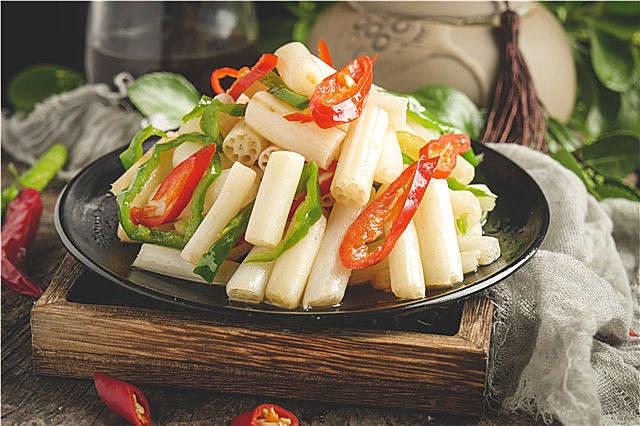 藕带不能和什么一起吃?藕带的营养美味做法